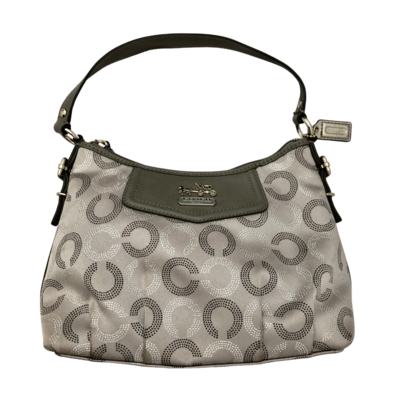Silver Sophisticated COACH 44379 Purse
