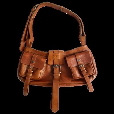 BURBERRY Prorsum Cinda Italian Made Leather Handbag
