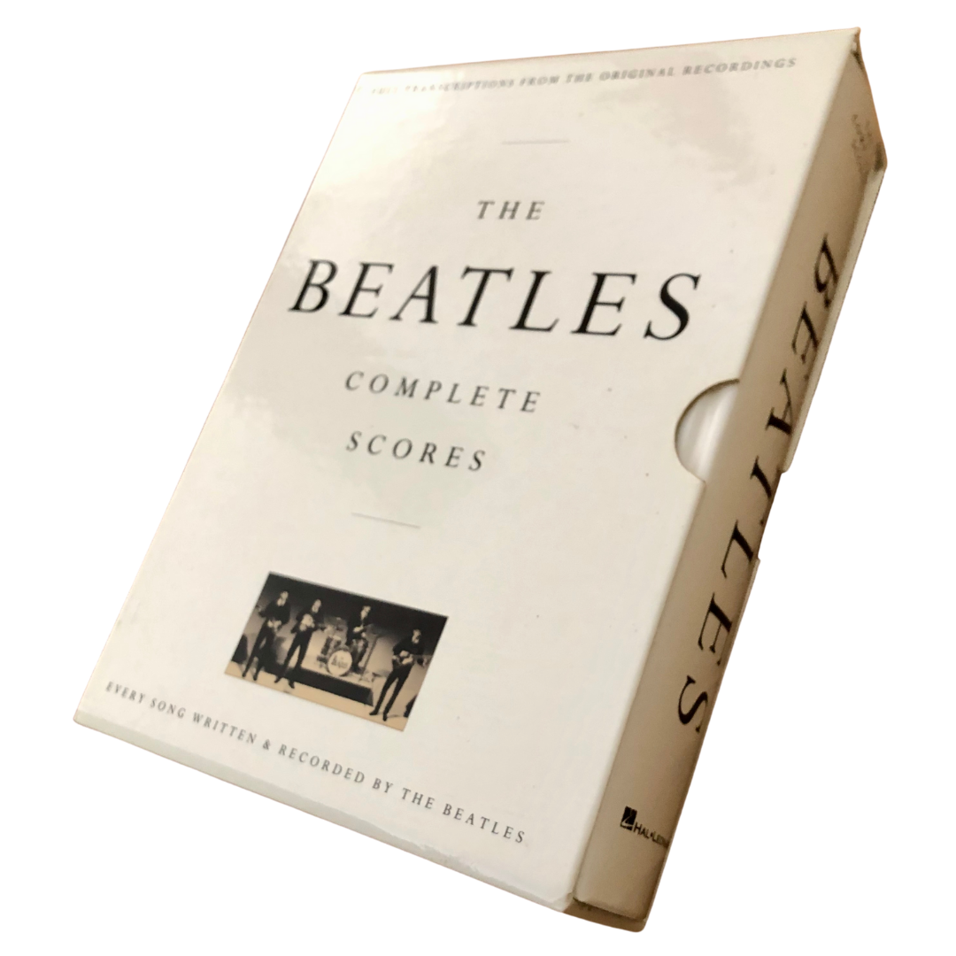 The Beatles Complete Scores Boxed Hardcover Book HL00673228
