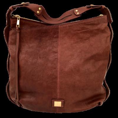 Kooba Stratford Hobo Leather Adjustable Strap Shoulder Bag
