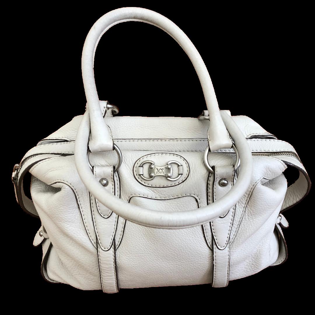 Michael Kors Winter White Handbag