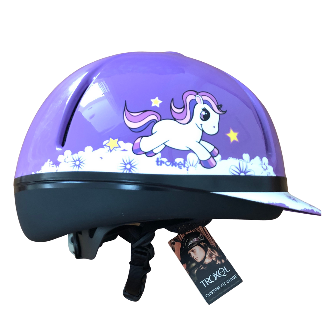 "Troxel ""My Little Pony"" Equestrian or Bike Helmet"