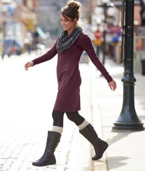 Duluth Trading Co Dress Women's Medium
