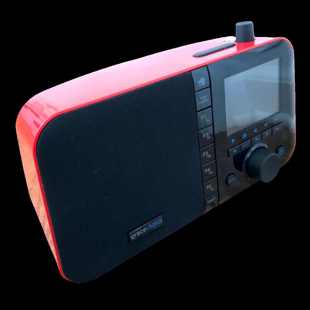 MONDO Grace Digital Red Internet Radio & Accessories