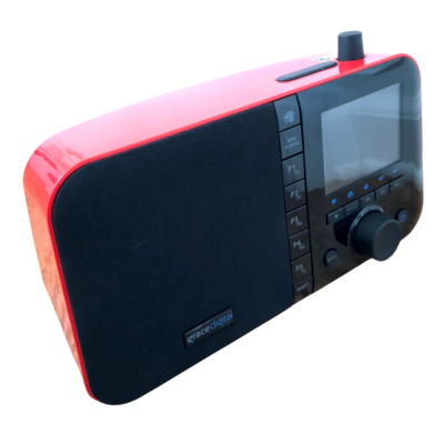 MONDO Grace Digital Red Internet Radio and Accessories