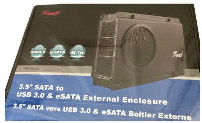 Rosewill 3.5 SATA To USB 3.0 & eSATA External Enclosure RX-358 U3C