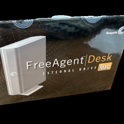 Seagate FreeAgent Desk External Drive for MAC 1 TB USB 2.0 Firewire 800