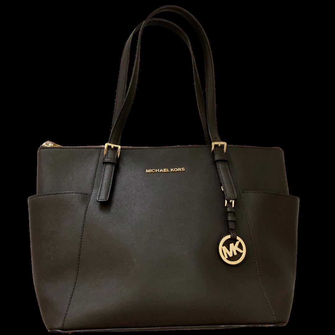 Michael Kors Jet Set Dark Brown Handbag
