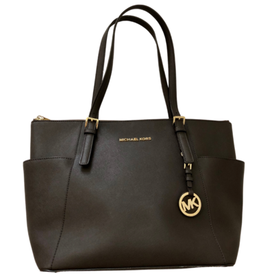 Michael Kors Jet Set Dark Brown Handbag