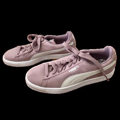 Puma Pink Suede Shoe Women's 9.5