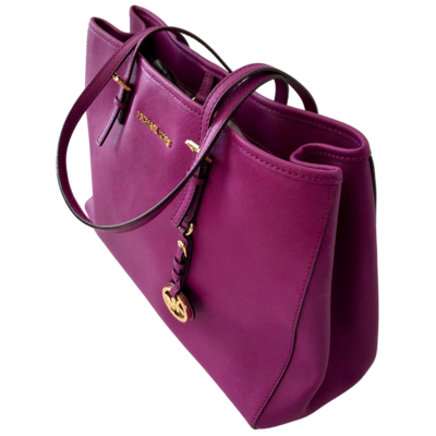 Michael Kors Jet Set Purple Handbag