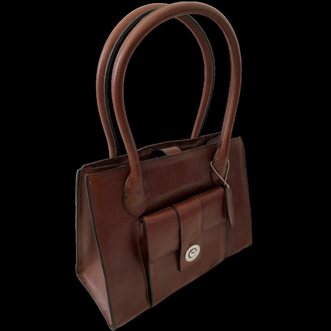 Wilsons Leather Chestnut Handbag