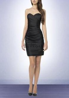 Bill Levkoff Satin Formal Strapless Dress Women's 12