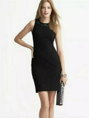 Banana Republic L'Wren Scott Black Dress Women's 6