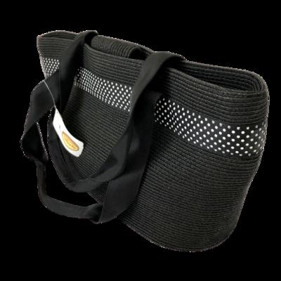 Talbots Shoulder Bag with Black & White Trim