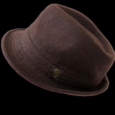 PAMOA Wool Blend Fedora Hat Unisex S/M