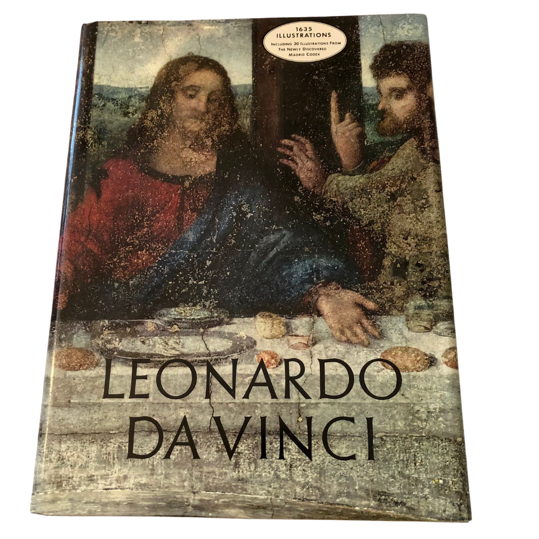 Leonardo Da Vinci Artabras Coffee Table Book