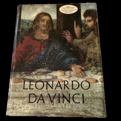 Leonardo Da Vinci Artabras Coffee Table Book