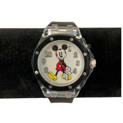 Mickey Mouse Watch with Rubber Watchband