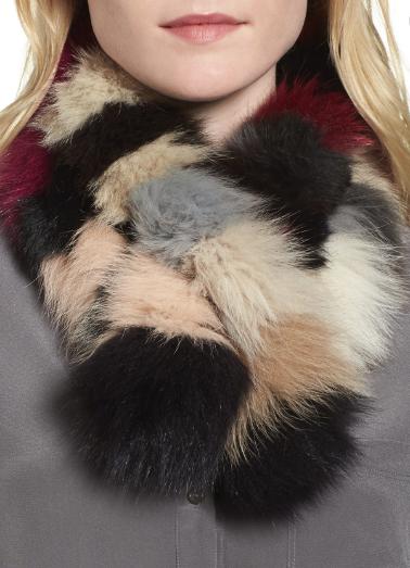 Vincent Pradier 80% Fox Fur Scarf or Collar