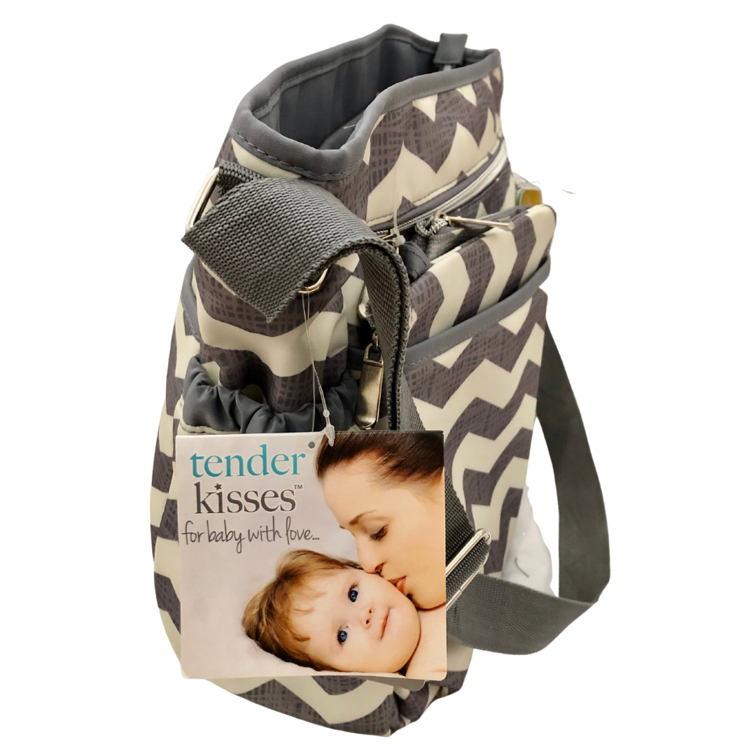 Tender Kisses Urban Dash 8-Piece Accessory Set Diaper Bag