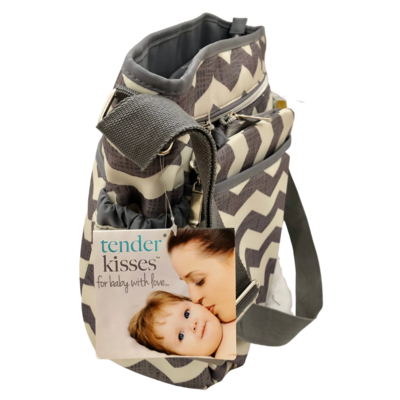 Tender Kisses Urban Dash 8-Piece Accessory Set Diaper Bag