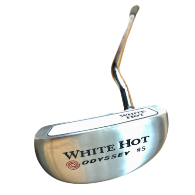 White Hot Odyssey #5 Putter with Tiger Cover
