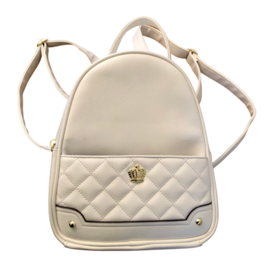 Juicy Couture White Backpack Purse