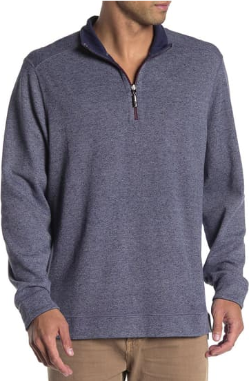 Tommy Bahama Flipshore Half-Zip Reversible Pullover Men's 3XT