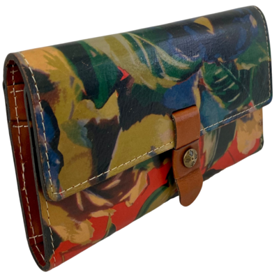Patricia Nash Italian Leather Floral Trifold Women's Wallet