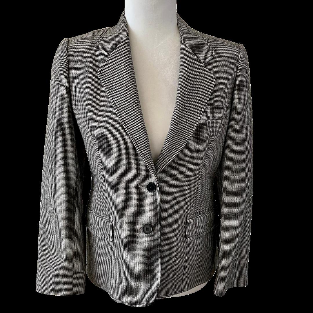 Evan Picone Petites Wool Lined Two-Button Blazer Women's 6P