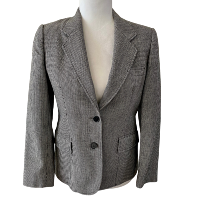 Evan Picone Petites Wool Lined Two-Button Blazer Women's 6P
