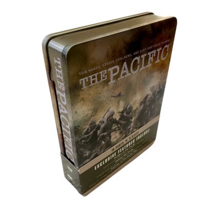 THE PACIFIC 10 Parts 6 Disc DVD Set in Tin Case