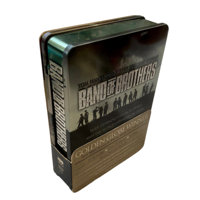 BAND OF BROTHERS 10 Episodes 6 Disc DVD Set in Tin Case with Bonus Feature