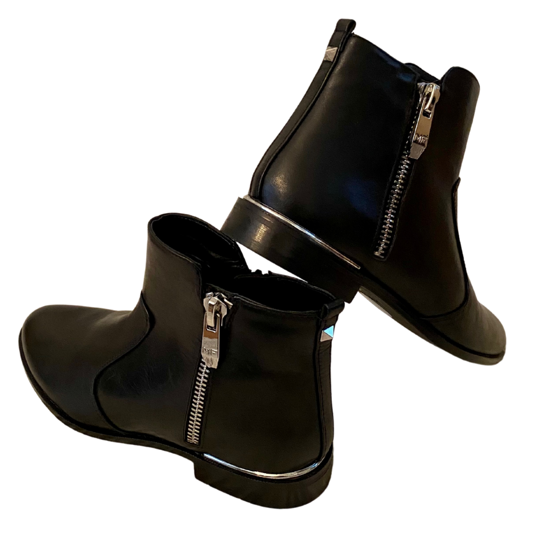 Marc Fisher MF Rail Leather Boot Women's 7.5