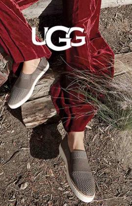 UGG Sammy Slip On Sneaker Shoe Women's 10