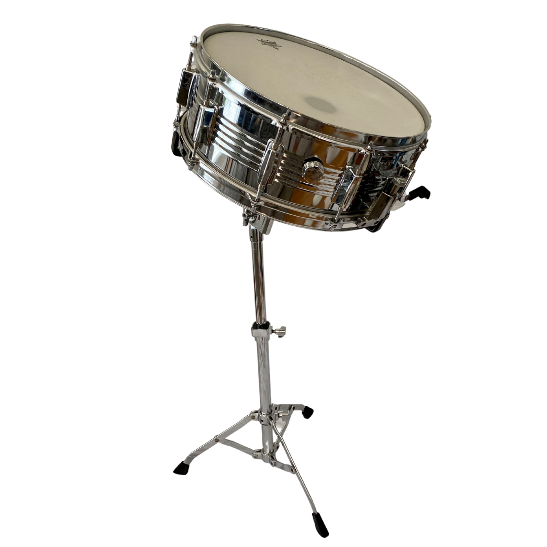 UMI Snare Drum with Remo Weatherking Head Stand and Hard Case Included