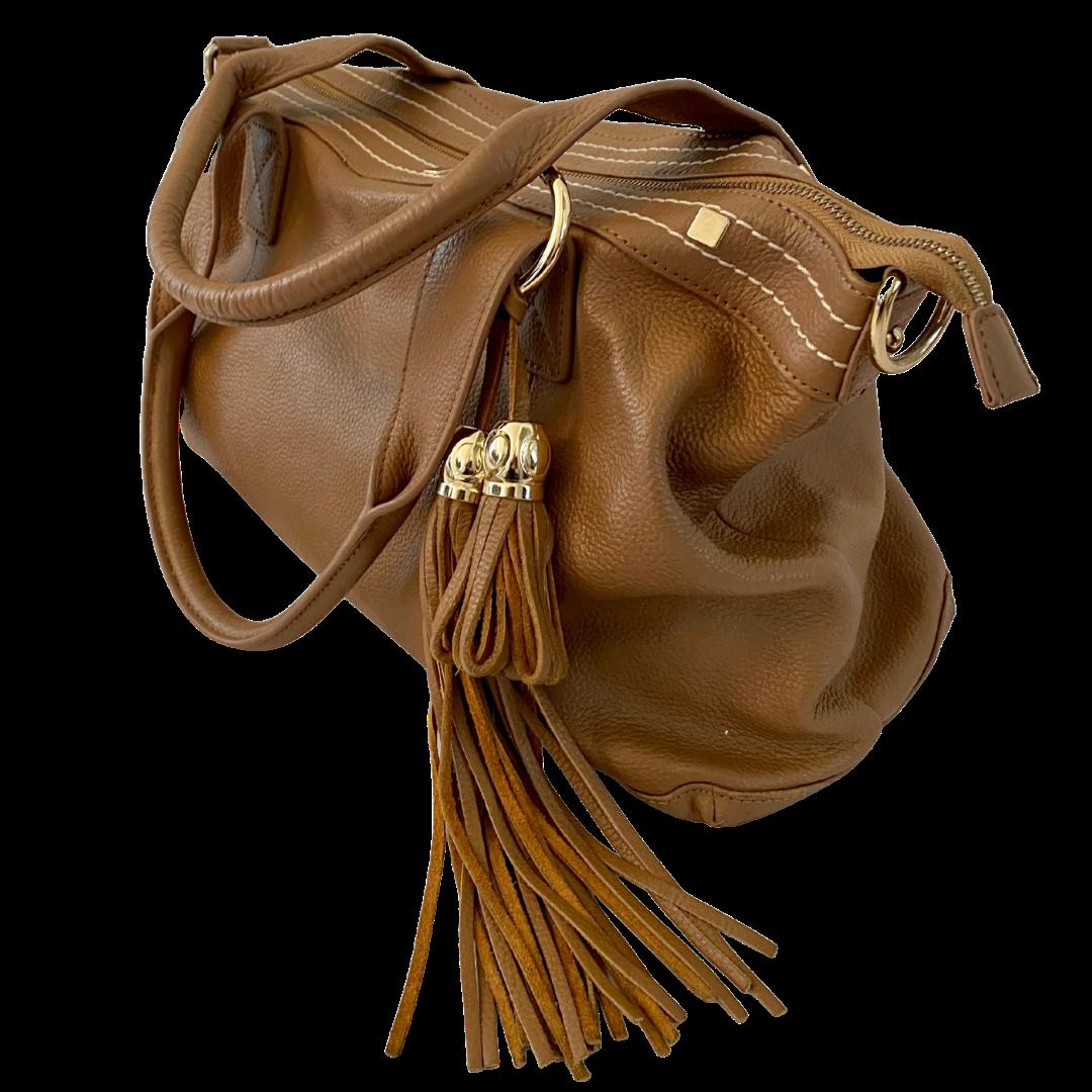 Cuore & Pelle Amelia Genuine Leather Handbag
