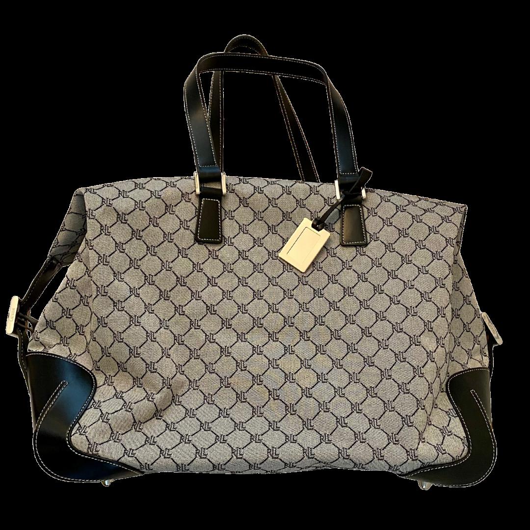 Ralph Lauren Signature Weekend Travel Duffel Bag
