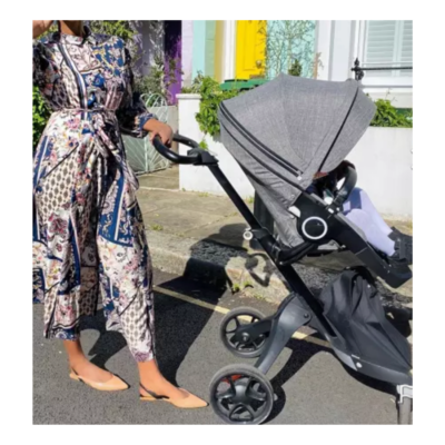 STOKKE Xplory Navy Blue and Grey Stroller