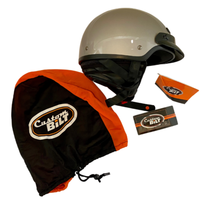 Custom Bilt Falcon 1/2 Helmet Unisex Small