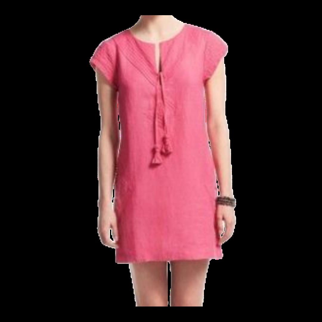 Calypso St. Barth Pliant 100% Linen Dress Women's XS