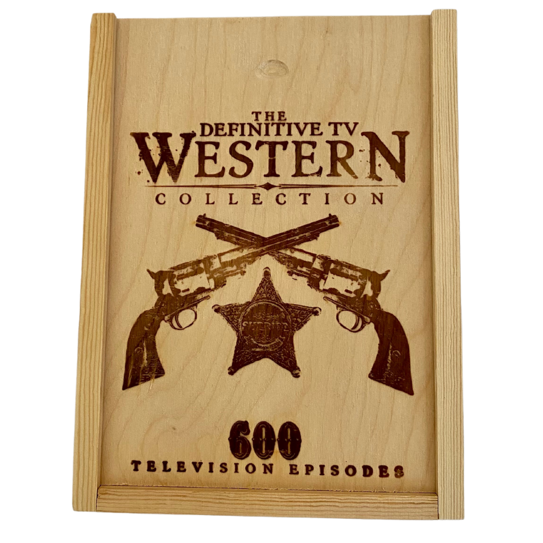 The Definitive TV Western Collection DVD Set of 600 Television Episodes