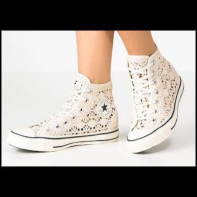 Converse Chuck Taylor Mesh Textile High Top Shoe Women's 8