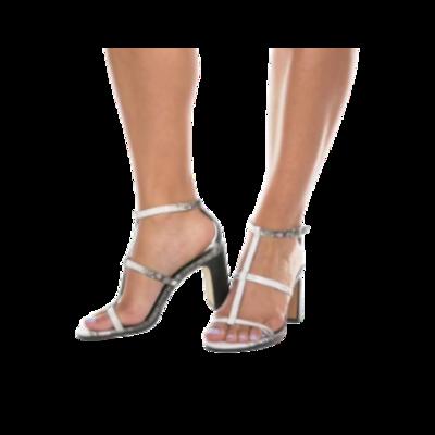 Vince Camuto Reptile Embossed Bahlinda Dress Sandal Women's 5.5