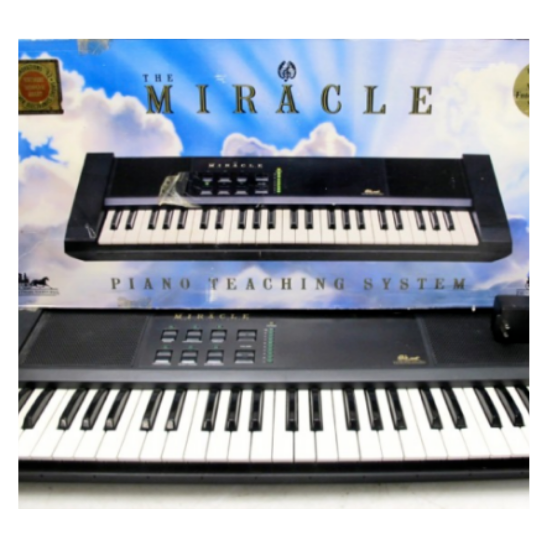 The Miracle Piano Teaching System with Stand