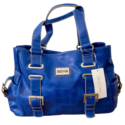 Kenneth Cole Reaction Marine Blue Interconnect Tote