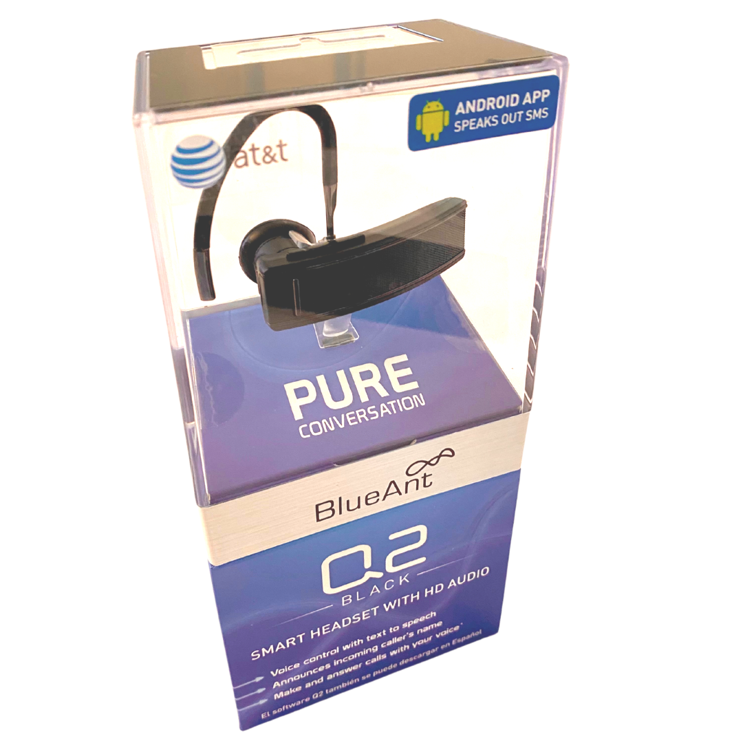 Q2 BlueAnt Smart Bluetooth Headset with HD Audio