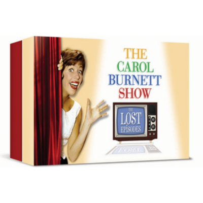 TIME LIFE The Carol Burnett Show The Lost Episodes Boxed 22 DVD Set Booklet Included