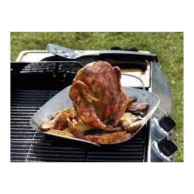 Pampered Chef BBQ Roasting Pan & Can #2714
